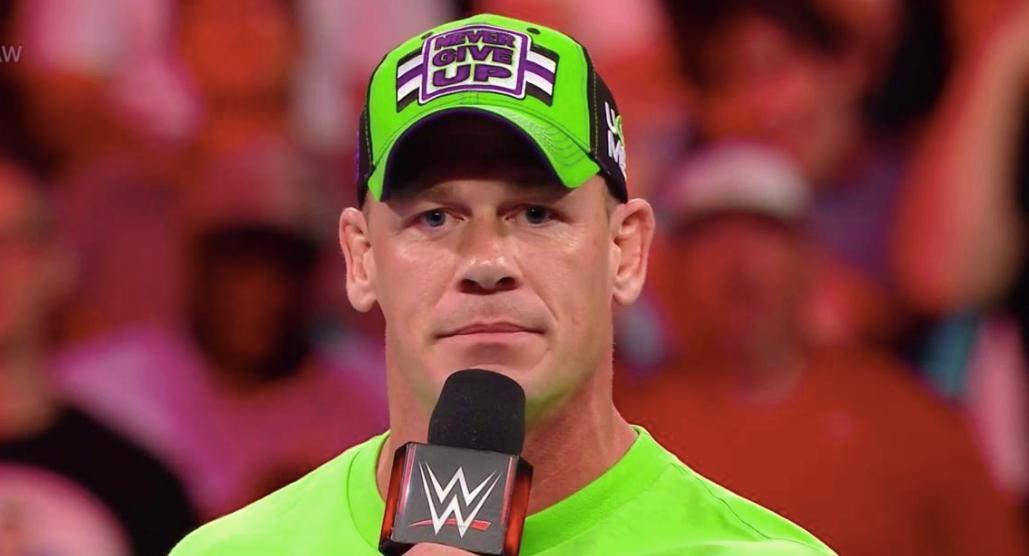 John Cena Undertaker WrestleMania pep rally