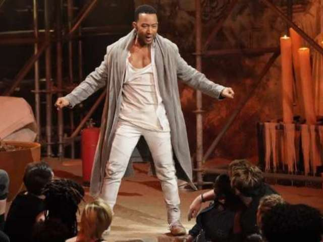 Social Media Is Distracted Over John Legend's Pecs and Abs in 'Jesus Christ Superstar'