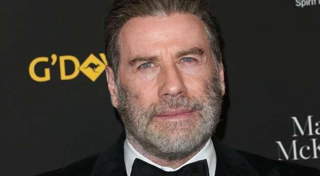 john travolta reveals new bearded look