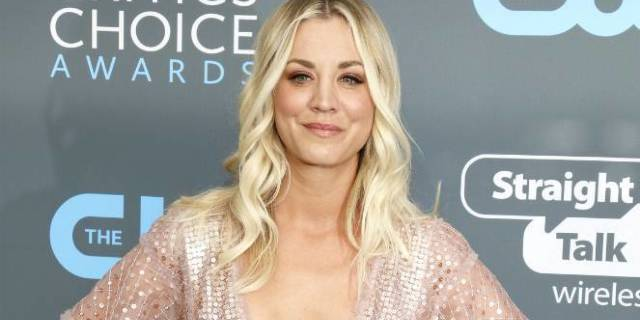 Kaley Cuoco Revels in Pink-Themed Bachelorette Party