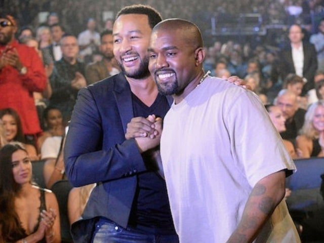 Kanye West Accuses John Legend of 'Manipulating My Free Thought'