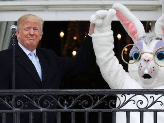 White House Easter Egg Roll Bunny Has Twitter Buzzing