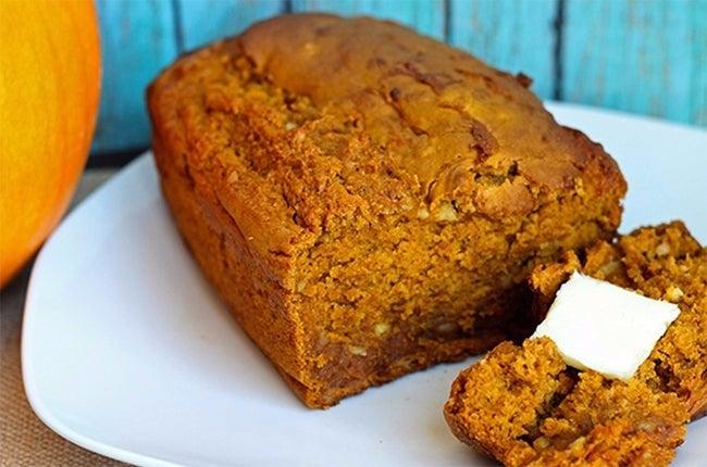 Pumpkin Quick Bread 650