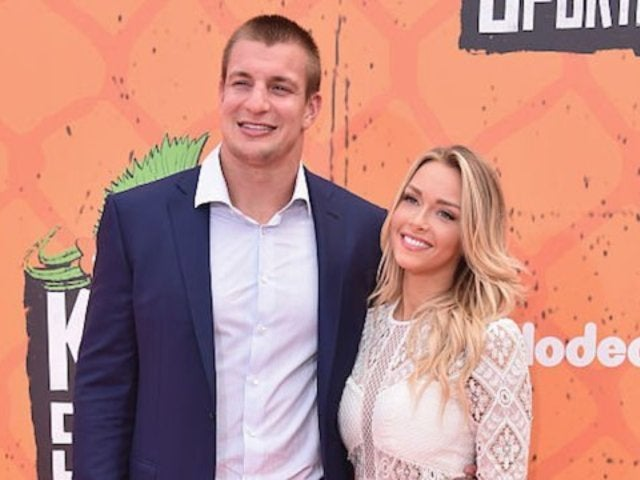 Rob Gronkowski Posts NSFW Comment on Camille Kostek's Topless Instagram Snap
