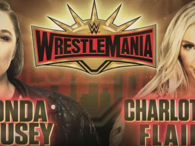 WWE Teases Ronda Rousey Vs. Charlotte Flair for WrestleMania 35