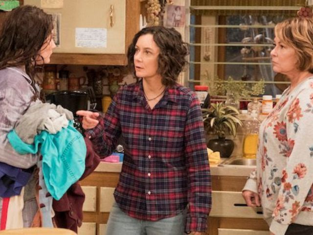 'The Talk' Host Sara Gilbert Says She's Sad for 'Roseanne' Crew Who Lost Their Jobs