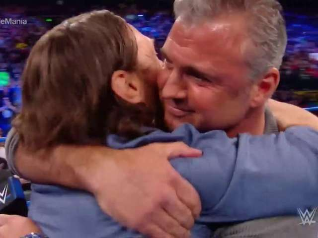 Daniel Bryan and Shane McMahon Hug It Out on SmackDown Live