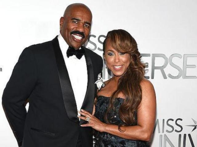 Steve Harvey Fans Furious With His Wife Over 'Retarded' Comment