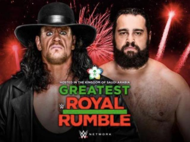 The Undertaker Set for Casket Match at 'Greatest Royal Rumble'