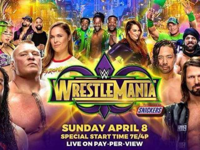 WrestleMania 34 Has the Strongest Card in WrestleMania History