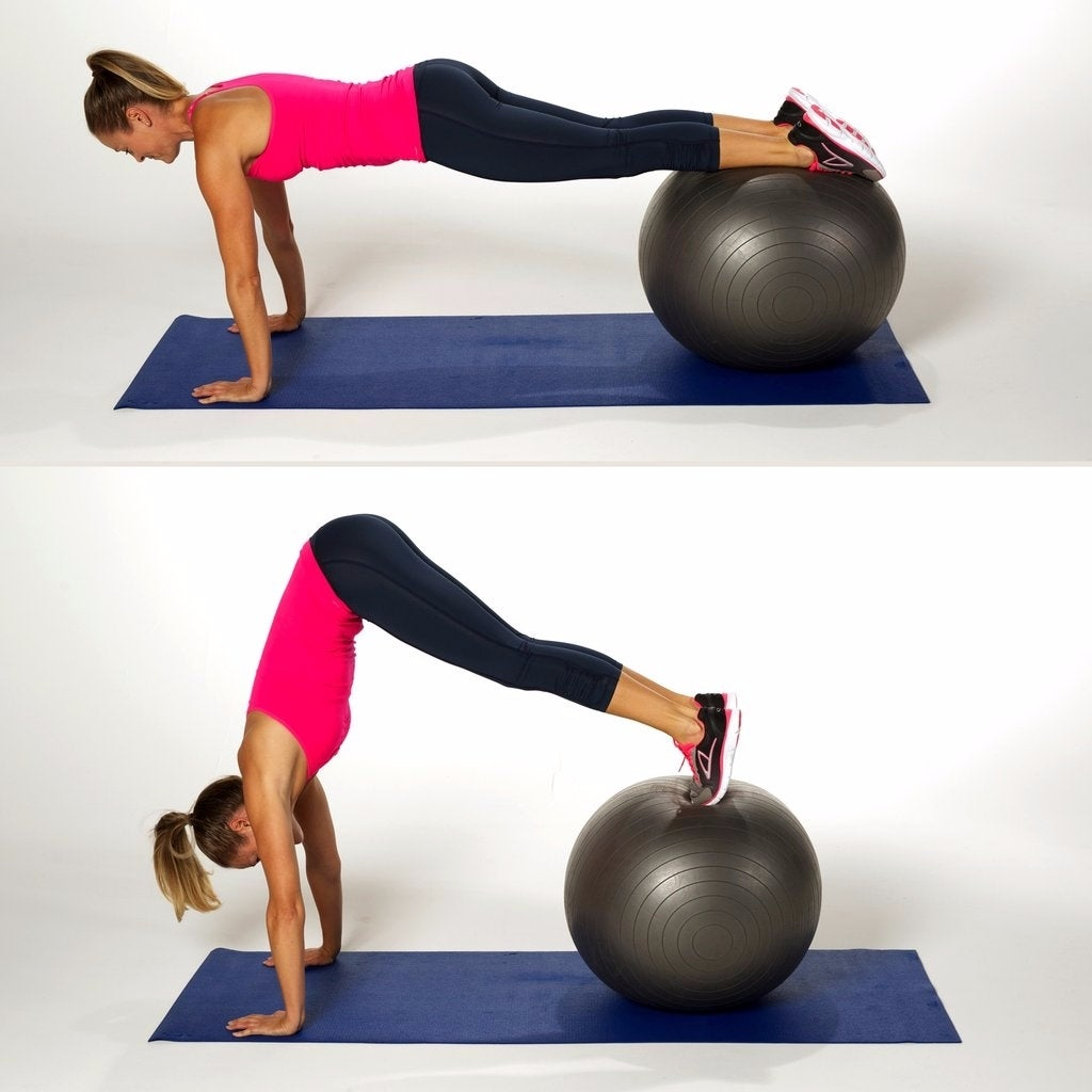 Stability Ball Side Lift: 25 Ab Exercises That Aren't Crunches