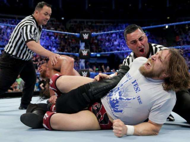 Daniel Bryan Gives Big Cass Brutal Beatdown on SmackDown Live