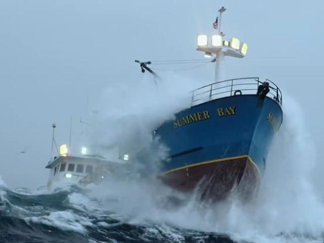 'Deadliest Catch' Captain Wild Bill Battles Hurricane-Force Winds