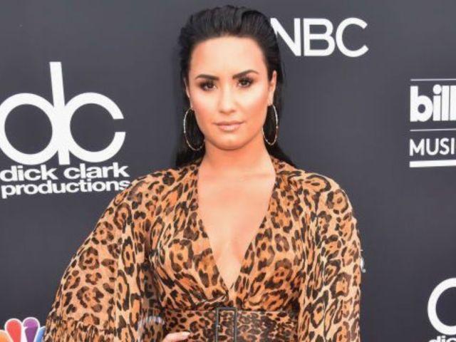 Billboard Music Awards 2018: Demi Lovato Shows off Her Wild Side in Cheetah Dress