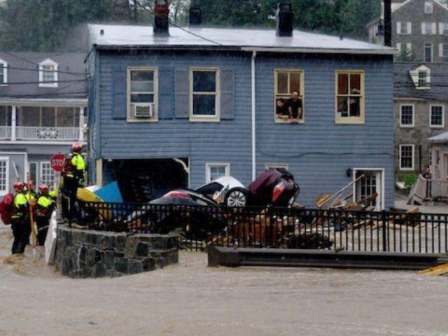 1 Person Missing as Extreme Flooding Rocks Ellicott City, Maryland