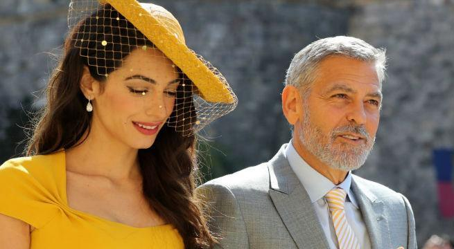 george-clooney-amal-clooney-royal-wedding-Gareth-Fuller-WPA-Pool