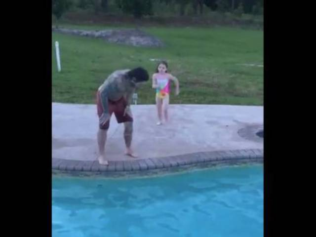 Watch: Jeff Hardy's Daughter Lands Cutest RKO of All Time