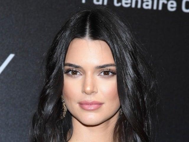 Kendall Jenner Rocks Sheer Dress at Cannes Film Festival