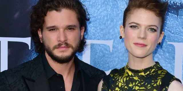 kit harington rose leslie getty