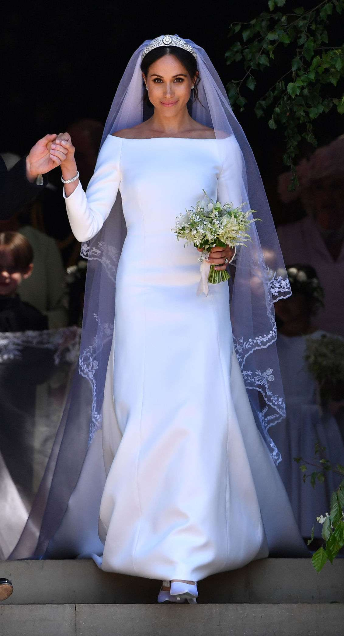 All Meghan Markle\'s Royal Wedding Dress Details You Didn\'t Know