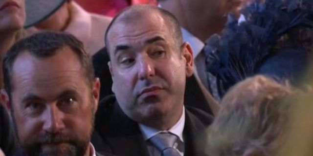 Meghan Markle's 'Suits' Co-Star Rick Hoffman Reveals Why He Looked 'Unimpressed' at Royal Wedding