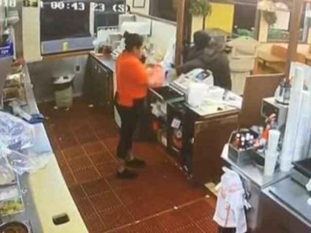 Customer Stops Fast Food Robbery By Firing Shots Through Drive-Thru Window