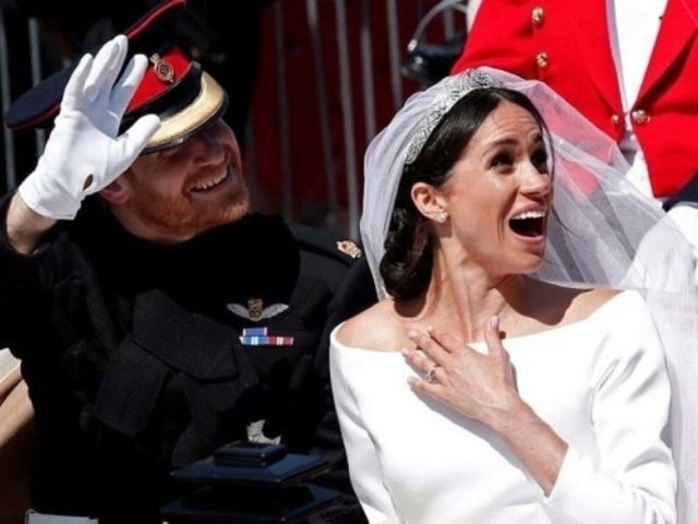 Meghan Markle and Prince Harry Star in Bizarre Meme After Royal Wedding Procession