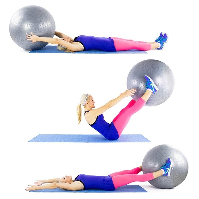 Stability Ball Moves: 15 Stability Ball Moves For A Total Body Workout