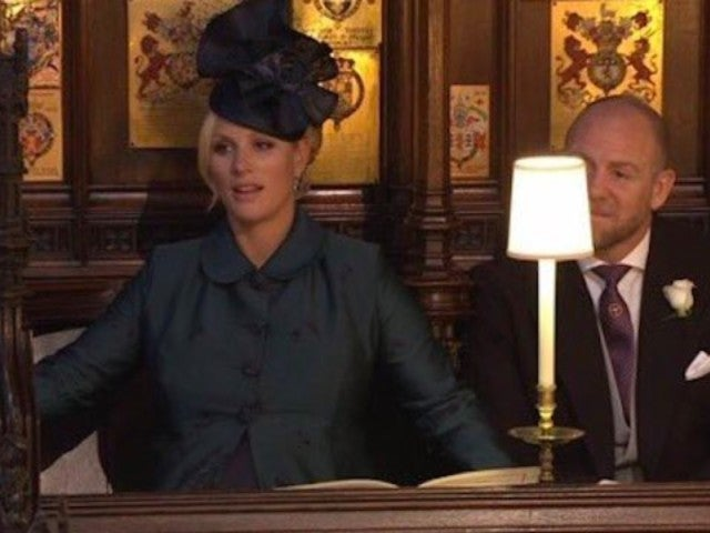 Zara Phillips' Dropped Jaw Sums up Twitter's Reaction to Wedding Sermon