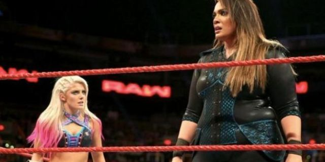 Alexa Bliss wwe tattoo nia jax