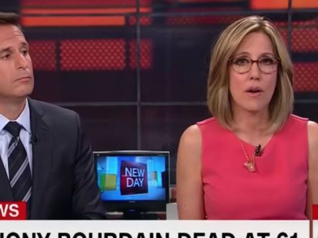 CNN Anchor Alisyn Camerota Overcome With Emotion While Detailing Her Depression in Wake of Anthony Bourdain's Suicide