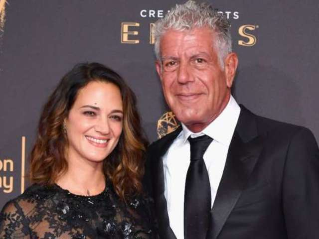 Asia Argento Leaves Home in Rome After Anthony Bourdain's Suicide