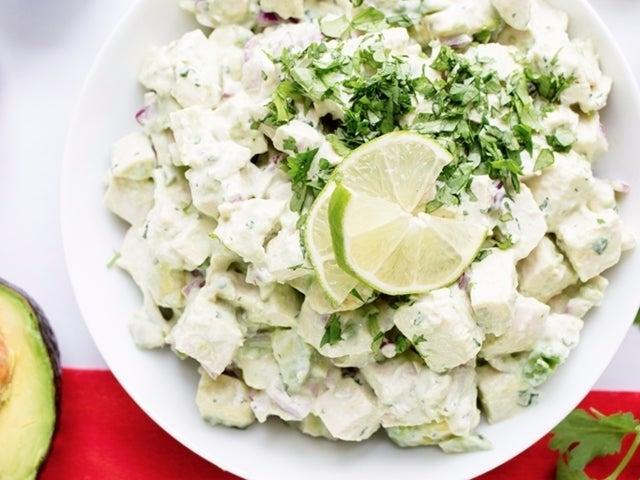 Recipe: Avocado Chicken Salad