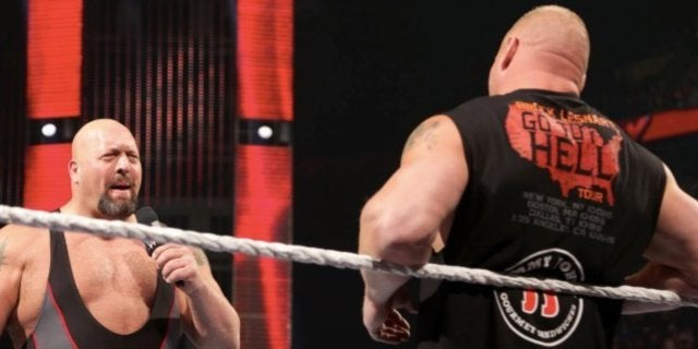 brock lesnar wwe big show scares everyone