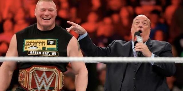 brock lesnar wwe paul heyman leaving summerslam