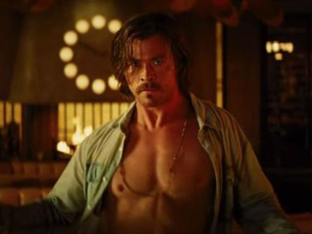 See Chris Hemsworth Shirtless in Trailer for 'Bad Times at the El Royale'
