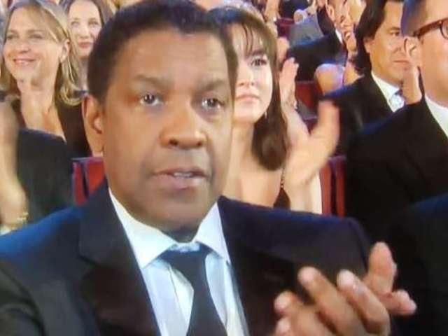 Denzel Washington Already Stole the Tony Awards Spotlight With Hilarious Reaction