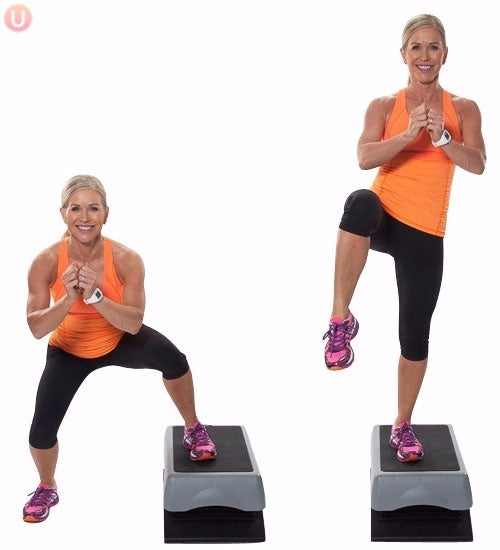 Elevated-Squat-with-a-Knee-Lift_Exercise