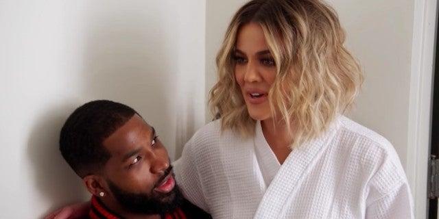 Khloe Kardashian Hits the Gym With Tristan Thompson After LA Return