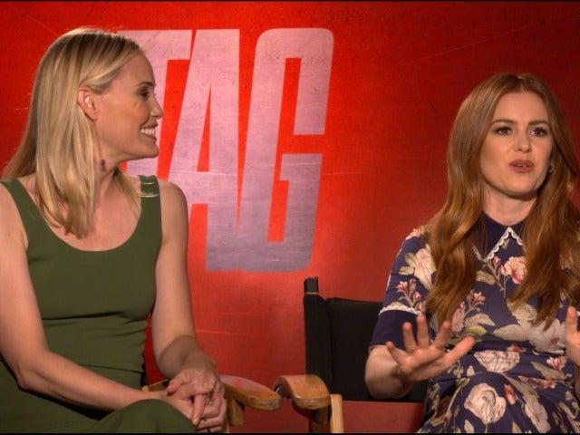 Leslie Bibb and Isla Fisher talk TAG