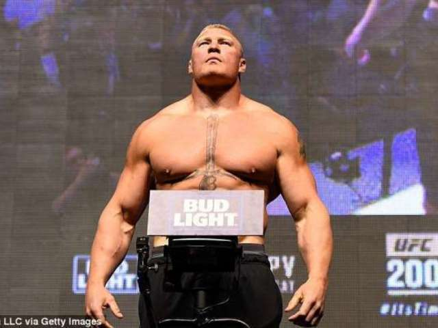 Dana White Teases Brock Lesnar UFC Return Against Major Star