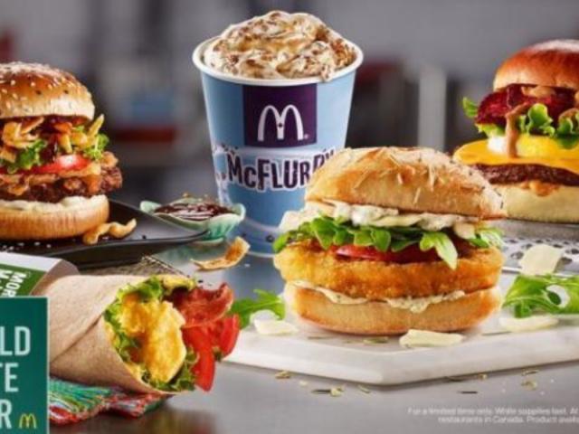 McDonald's Introduces 5 New Menu Items