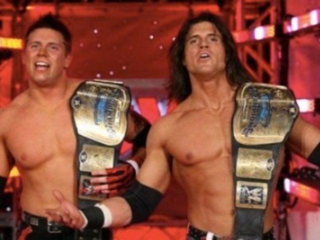 The Miz, Zack Ryder, and John Morrison Reunite for Wrestling Wedding