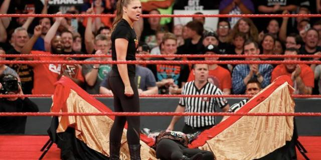 ronda rousey wwe  issues apology suspension raw