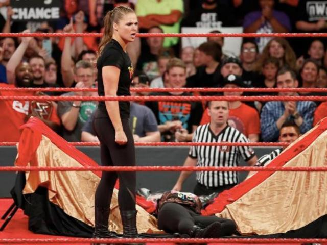 Ronda Rousey Issues Apology Amid WWE Suspension