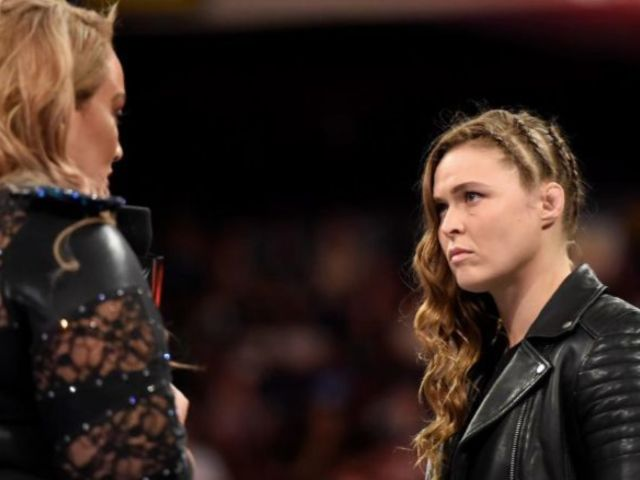 Watch Ronda Rousey Force Nia Jax to Tap on Raw