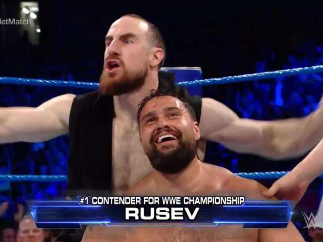 Rusev Crowned Number One Contender on SmackDown Live