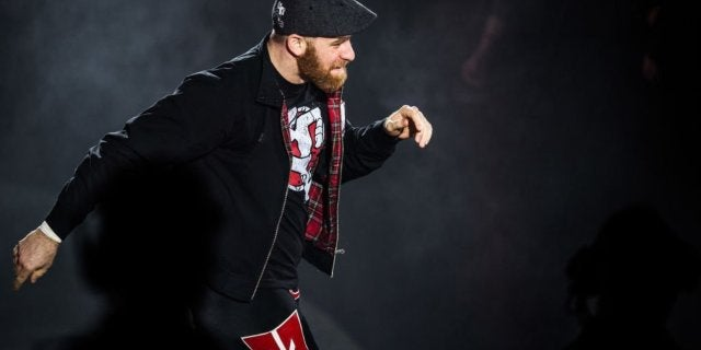 sami zayn wwe injured mitb