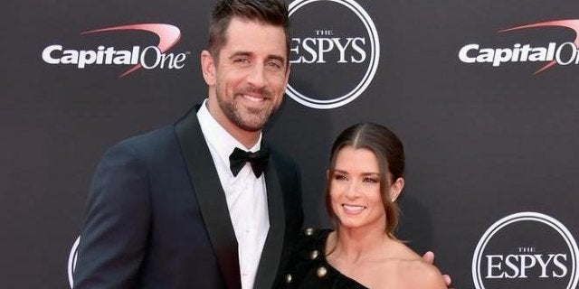 danica-patrick-aaron-rodgers-getty