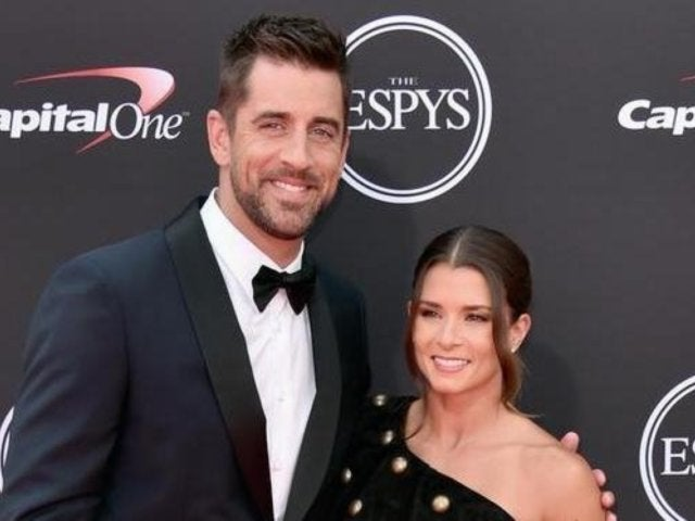 Danica Patrick and Aaron Rodgers Make Their Red Carpet Debut at 2018 ESPYS